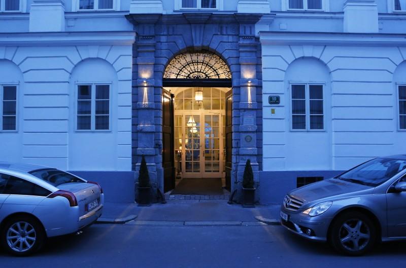 Hotel Antiq Palace front