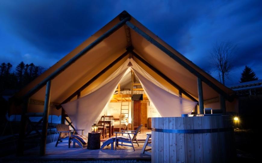Garden Village Glamping tent